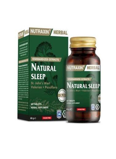 Nutraxin Nutraxin Naturel Sleep 60 Kapsül Renksiz